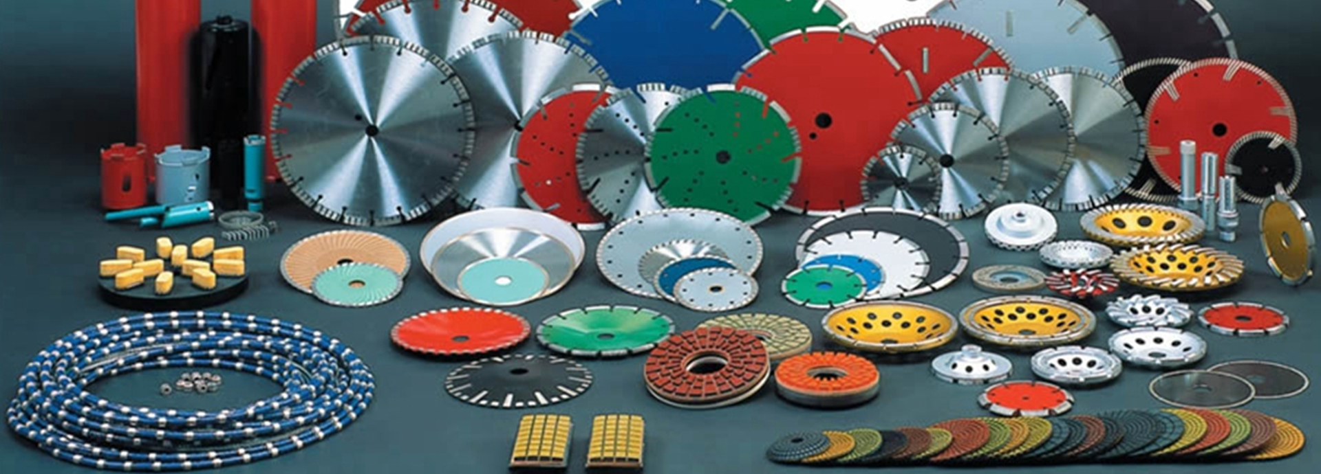 Supplier of diamond segments, blades, wire saw and grinding tools - Edgestone Diamond Tools